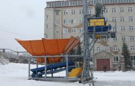 Мобильный бетонный завод со скидкой в 200 000 рублей!