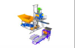 Мобильный бетонный завод и вибропресс
