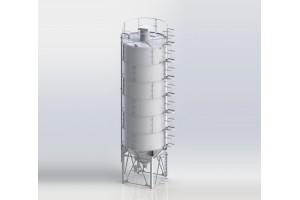 Сборный силос цемента СЦС-60