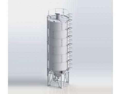Сборный силос цемента СЦС-84