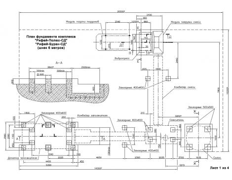 Вибропрессующий комплекс Рифей-Буран-750-СД